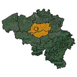 Province de Brabant arrondissement de Nivelles : canton de Nivelles P.C. Popp | Popp, Philippe Christian (1805-1879)