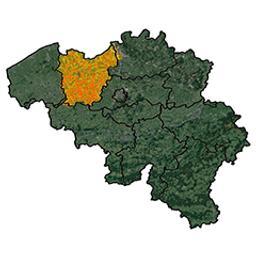 Province de Flandre Orientale arrondissement de Gand : canton de Cruyshautem P. C. Popp | Popp, Philippe Christian (1805-1879)