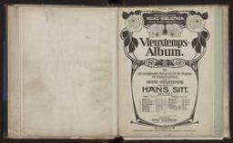 Vieuxtemps-Album Kompositionen für Violine mit Klavierbegleitung : Heft II : 1. Rêverie Op. 22 no 3 ; 2. Air varié, D dur Op. 22 no 1 ; 3. Douleurs Op. 45 no 1 ; 4. Espoir Op. 45 no 2 ; 5. Saltarelle aus Op. 35 ; 6. Yankee doodle , Op. 47 Henry Vieuxtemps ; herausgegeben von Hans Sitt   Vieuxtemps, Henry (1820-1881)