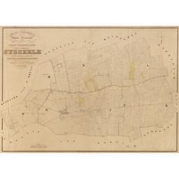 Plan parcellaire de la commune de Sysseele avec les mutations jusqu'en 1842 publié avec l'autorisation du gouvernement sous les auspices de Monsieur le Ministre des Finances par P. C. Popp | Popp, Philippe Christian (1805-1879)