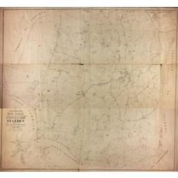 Plan parcellaire de la commune de Staeden avec les mutations publié avec l'autorisation du gouvernement sous les auspices de Monsieur le Ministre des Finances par P. C. Popp | Popp, Philippe Christian (1805-1879)