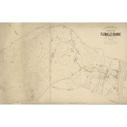 Plan parcellaire de la commune de Flémalle-Grande | Popp, Philippe Christian (1805-1879)