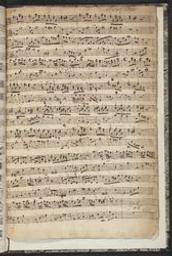 caption title: Suite del Sig r Krebs | Krebs, Johann Ludwig
