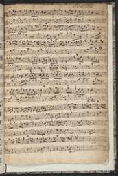 caption title: Suite del Sig r Krebs | Krebs, Johann Ludwig (1713-1780)