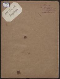 Zweites Concert für Violine mit Begleitung des Orchesters oder Pianoforte Op. 19 (Ausgabe für Violine und Piano) Henry Vieuxtemps   Vieuxtemps, Henry (1820-1881)