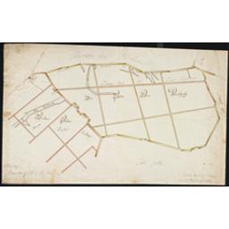 [Den polder van Arenbergh. Vreden polder] Document cartographique Anonyme  