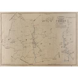 Plan parcellaire de la commune de Cordes | Popp, Philippe Christian (1805-1879)