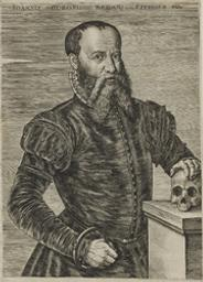 Portrait of Goropius Becanus Joannes graphic | Wierix, Johannes (1549-ca 1620). Graveur