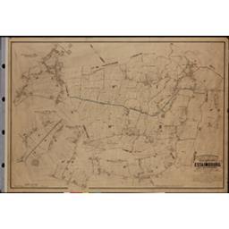 Plan parcellaire de la commune de Estaimbourg | Popp, Philippe Christian (1805-1879)