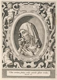 Envy graphic | Galle, Philips (1537-1612). Artiste
