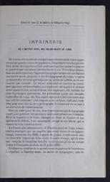 Imprimerie de l'Institut Royal des Sourds-muets de Liège par Ul. Capitaine | Capitaine, Ulysse (1828-1871). Auteur