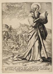 St James the Less graphic   Wierix, Anton II (Flemish printmaker, 1555/1559-1604). Graveur