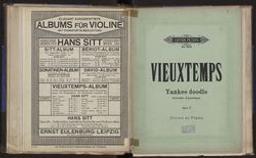 Yankee doodle = Souvenir d'Amérique caprice burlesque pour violon avec accompagnement de piano : Op. 17 Henry Vieuxtemps   Vieuxtemps, Henry (1820-1881)