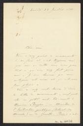 [Lettre autographe signée de Vincent d'Indy à Guillaume Guidé]   Indy, Vincent d' (1851-1931)