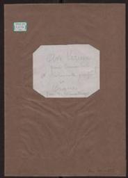 cover title, pencil: Ave Verum pour Tenor Solo violoncelle obligé et Orgue par H Vieuxtemps | Vieuxtemps, Henry (1820-1881)
