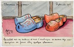 Chaussures de guerre!  