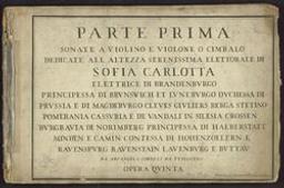 Parte prima (-seconda) | Corelli, Arcangelo (1653-1713)