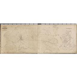 Plan parcellaire de la commune de Chièvres   Popp, Philippe Christian (1805-1879)