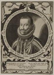 Portrait of Ernst, Archduke of Austria graphic | Wierix, Anton II (Flemish printmaker, 1555/1559-1604). Graveur