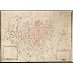 [Ieper] Cartografisch document | Croiset, J.W (17--)