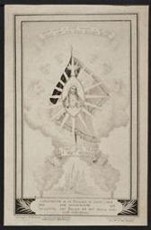 Consécration de la Belgique au Sacre-Coeur. 50eme Anniversaire. Toewijding van Belgie an het Heilig Hart. 50ste Verjaring postcard |