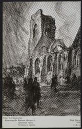 Ramscapelle. Ruines glorieuses. Glorious ruins. postcard |