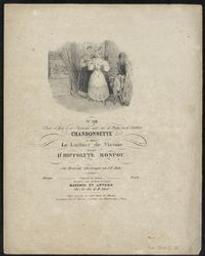 Leichter Sinn Musique imprimée = Gedrukte muziek aus der Oper Le Luthier de Vienne musique de Hippolyte Monpou ; ins Deutsche übertragen von J. D. Anton | Monpou, Hippolyte (1804-1841). Compositeur