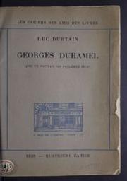 Georges Duhamel avec un portrait par Paul-Emile Bécat Luc Durtain | Durtain, Luc