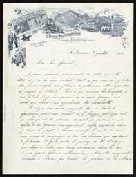 [Lettre autographe signée du Roi Albert Ier de Belgique au général Jungbluth] = [ms. III 1.353/1] | Albert, I (1875-1934) - Roi des Belges