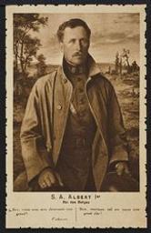 S. A. Albert Ier Roi des Belges postcard |