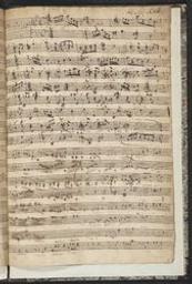 caption title: Ouverture del Sig r Krebs | Krebs, Johann Ludwig (1713-1780)