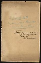 Journal de guerre 1914-1918 d'Edmond Picard = [ms. III 228] | Picard, Edmond