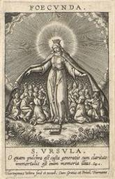 The Chastity of the Fertile graphic   Wierix, Hieronymus (Anvers, 1553 - 1619). Artiste