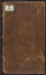 Die (seven)ste bliscap van onzer vrouwen [ms. II 478] | Franchoys van Ballaer (15de eeuw) - Brusselse redenaar. Eigendomsmerk (handgeschreven). Vorige eigenaar