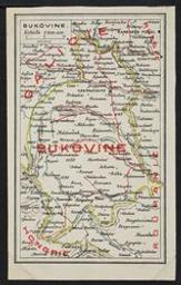 Bukovine postcard |