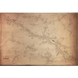 Commune de Zele développements du village et du Hau Zandberg à l'échelle d'un à 1250, des Haux d'Ansevelde, Meerschkant, Avermaet, Veldeken et Durmen à l'échelle d'un à 2500 | Popp, Philippe Christian (1805-1879)