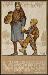 Unser Täglich'Brot gib uns Heute! postcard |