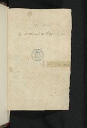 [Collectanea Bollandiana de sanctis 30i octobris] = [ms. 8926] | Bollandistes (Anvers). Propriétaire précédent