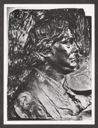 [Eugène Ysaÿe : bas-relief en argent massif par Constantin Meunier, 1902, Musée de Liège]   Ysaÿe, Eugène (1858-1931) - Violoniste, compositeur et chef d'orchestre. Propriétaire précédent