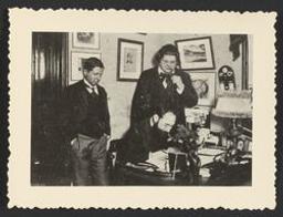 Albéric Magnard, Eugène Ysaÿe et Guy Ropartz vers 1907-1908 | Ysaÿe, Eugène (1858-1931) - Violoniste, compositeur et chef d'orchestre. Propriétaire précédent