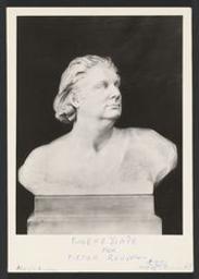 [Photographie du buste d'Eugène Ysaÿe par Victor Rousseau] 1915 | Ysaÿe, Eugène (1858-1931) - Violoniste, compositeur et chef d'orchestre. Propriétaire précédent