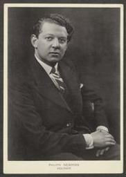 [Photo-carte de visite de] Philip Newman 1929 | Ysaÿe, Eugène (1858-1931) - Violoniste, compositeur et chef d'orchestre. Vorige eigenaar