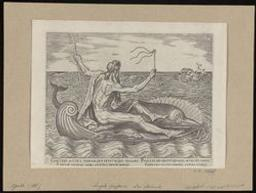 Water [Neptune] | Galle, Philips (1537-1612). Graveur