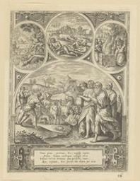 Noah building the ark   Broeck, Crispin van den (1524?-1591). Artist