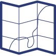 Commune de Grembergen développements du village des Haux Groot-Zand, Kleyn-Zand, Deynstraet et Lange-Straet publié avec l'autorisation du gouvernement sous les auspices de Monsieur le Ministre des Finances par P. C. Popp   Popp, Philippe Christian (1805-1879)