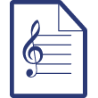 A la Patrie Musique manuscrite ode texte de Georges Verdavaine ; musique d'Arthur De Greef | De Greef, Arthur (1862-1940)